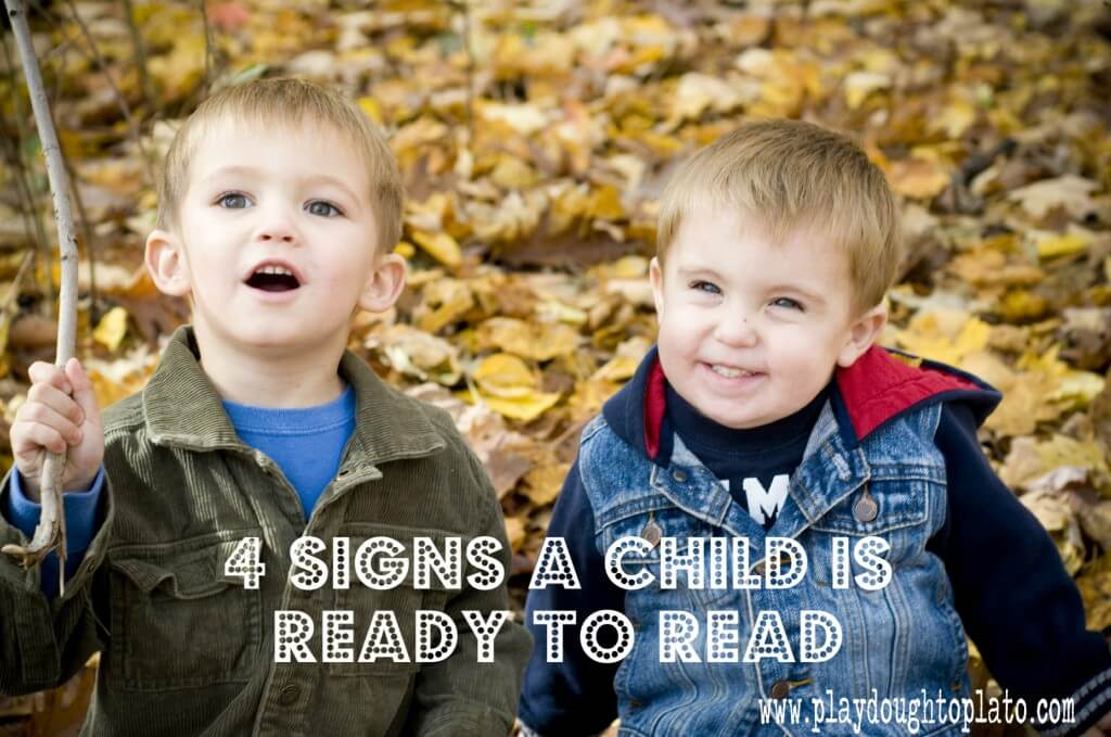 Signs of Reading Readiness