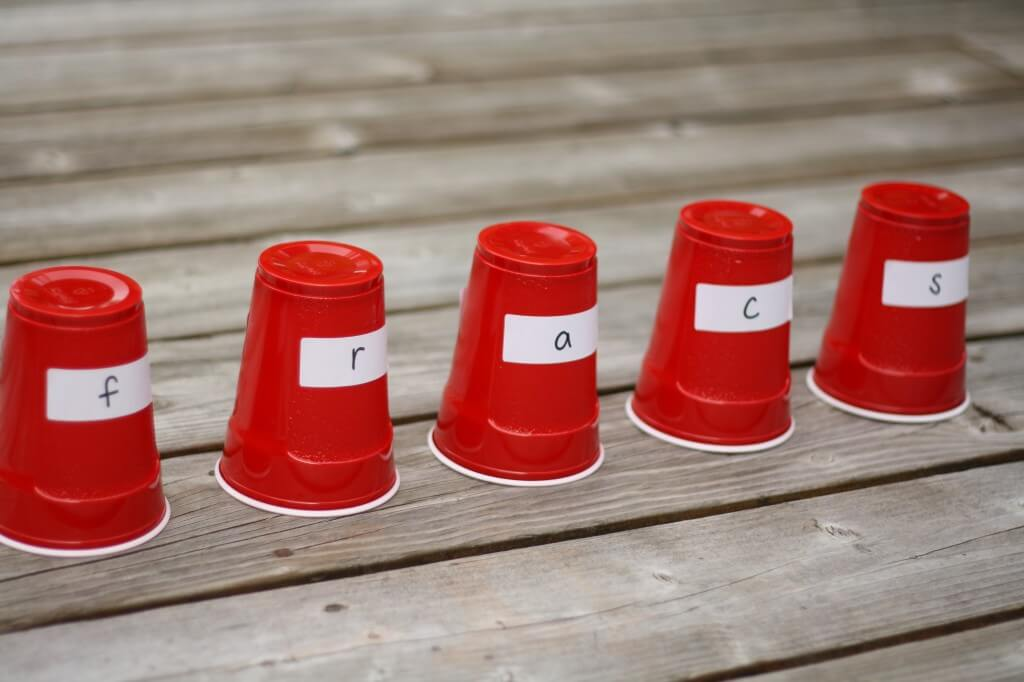 ABC Cup Hunt {Playdough to Plato}
