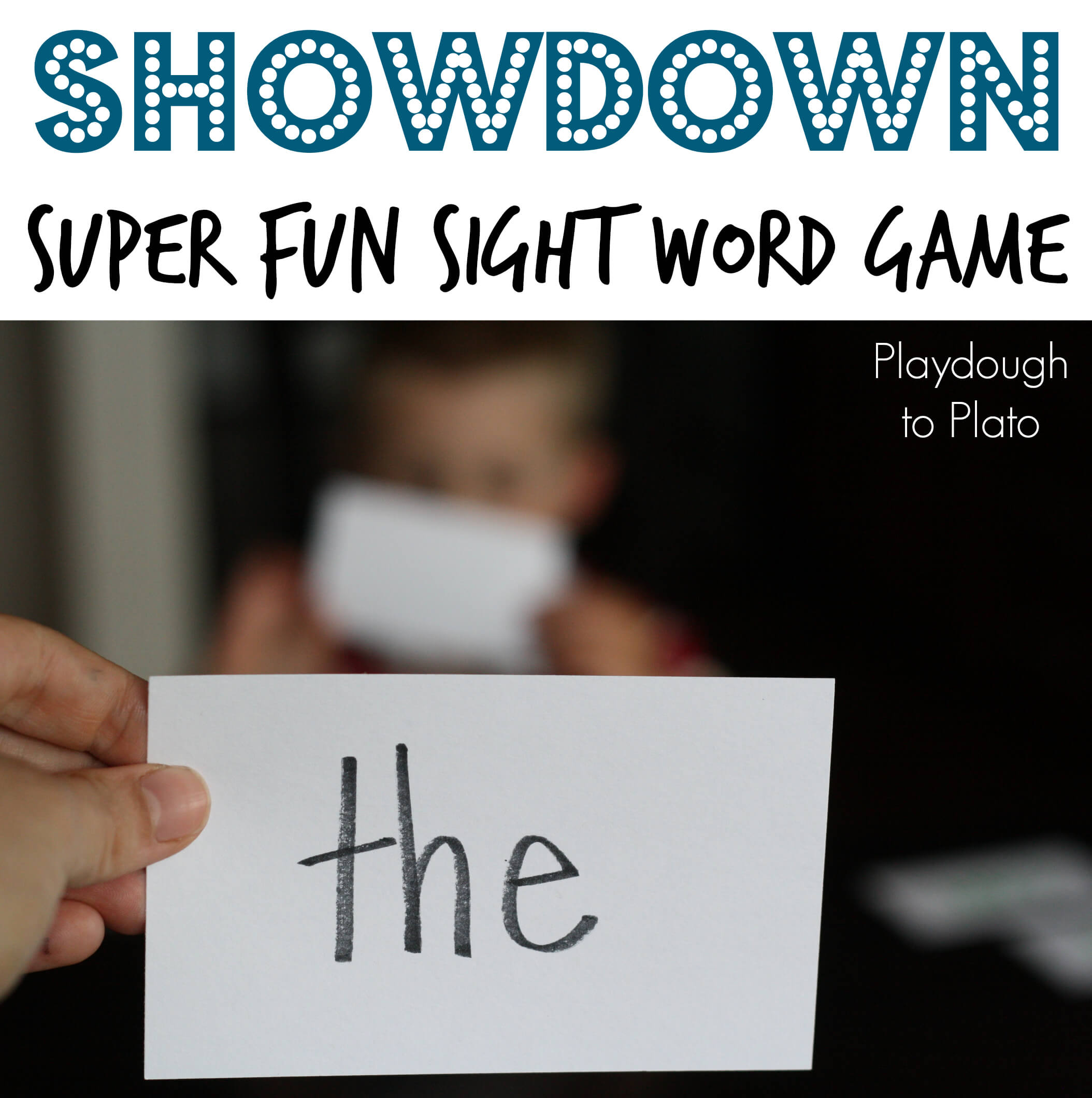 Sight Word Game: Showdown!!