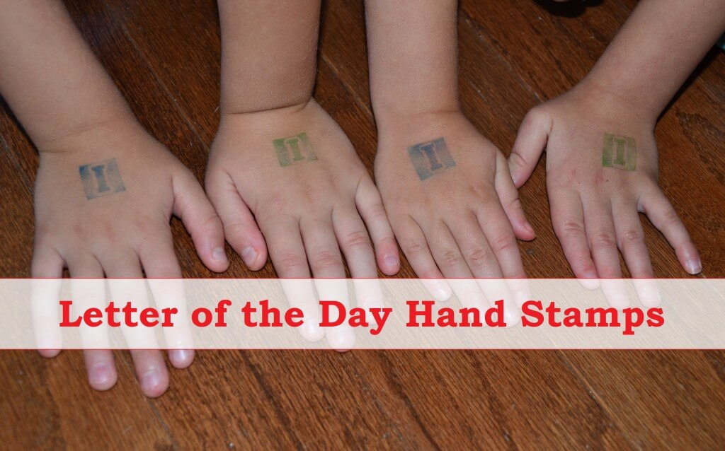 Letter of the Day Stamp