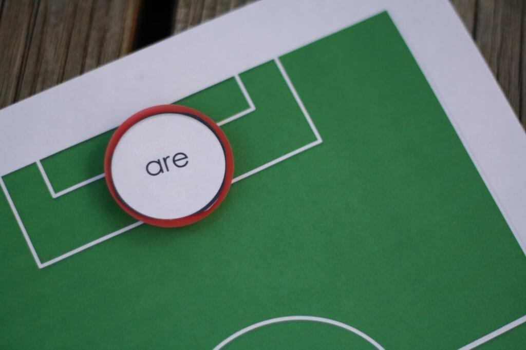 Sight Word Soccer {Playdough to Plato}