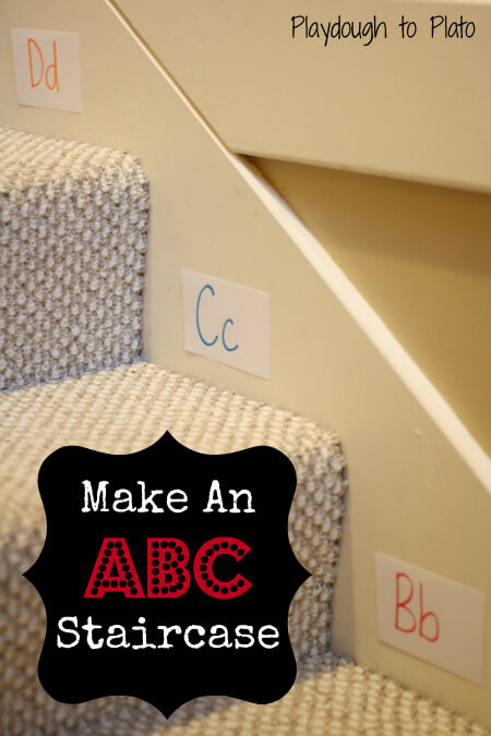 ABC Game: ABC Stairs