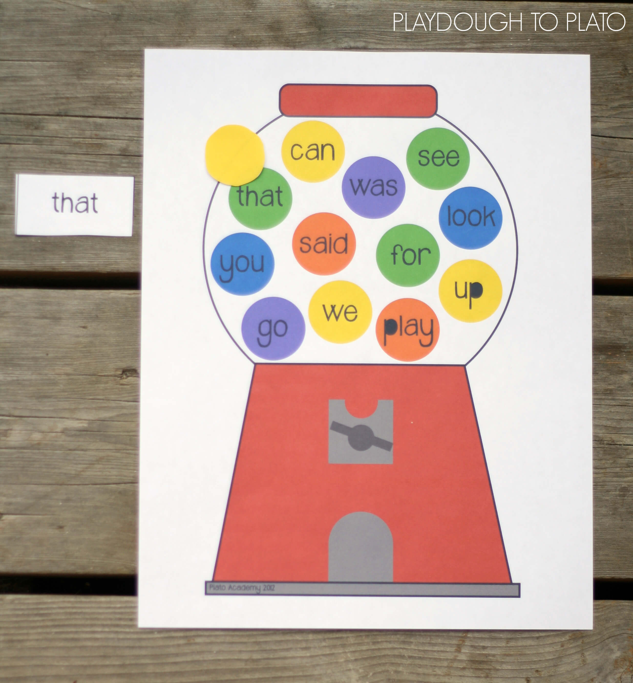 It's just a graphic of Satisfactory Printable Sight Word Game