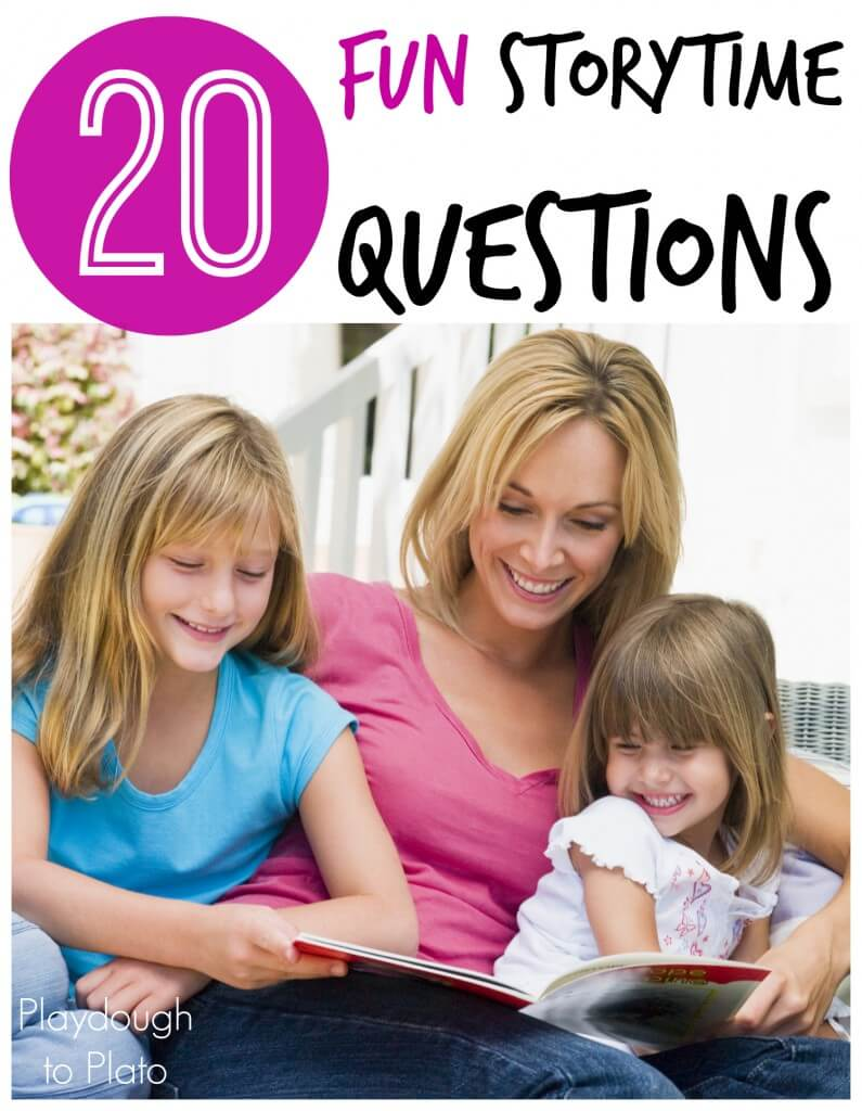 20 Fun Storytime Questions