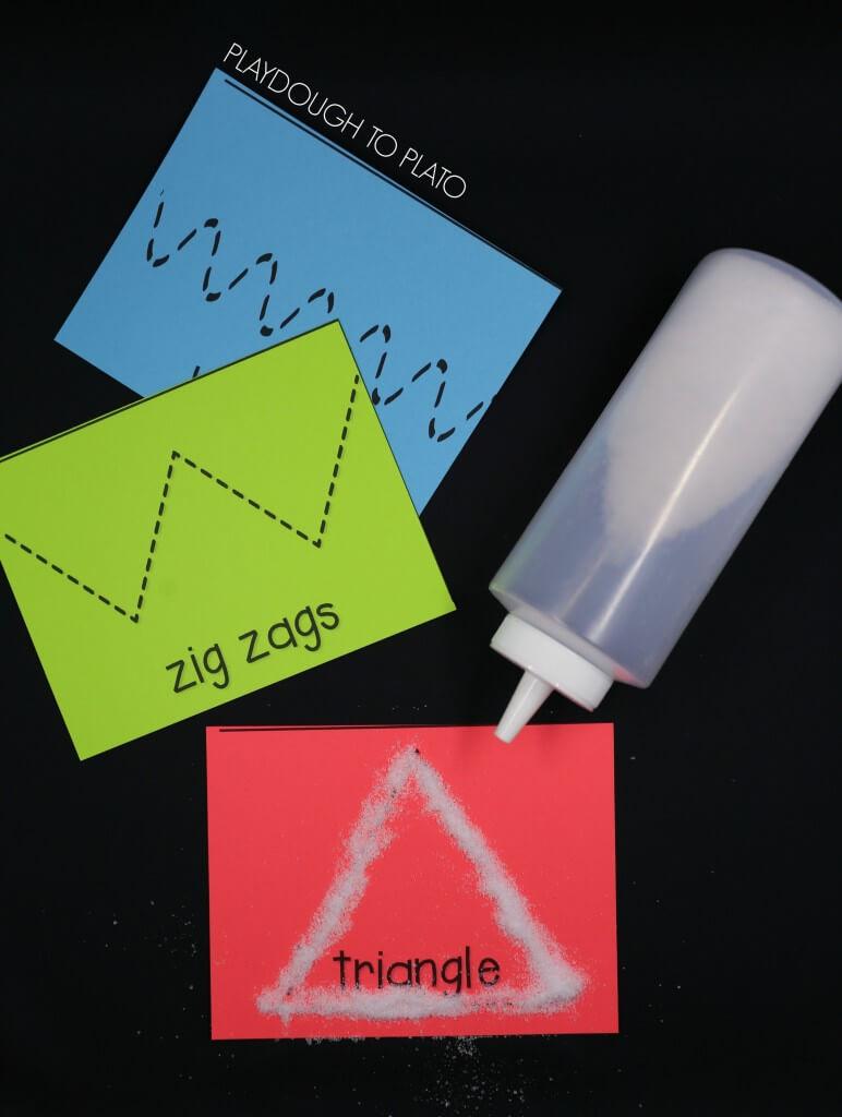 Salt tracing cards!