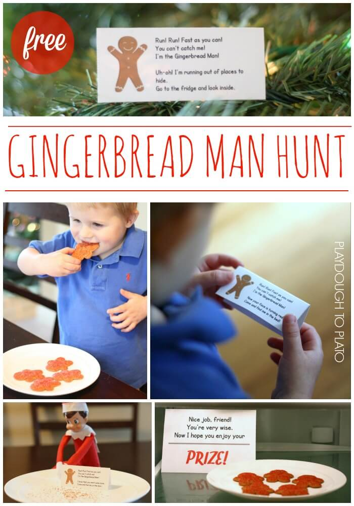 Fun Gingerbread Man Hunt!!
