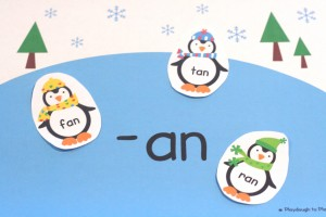 Penguin Word Family Sort