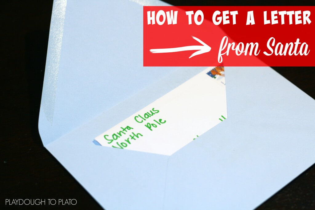This is SO AWESOME!! How to get a letter from Santa in the mail.