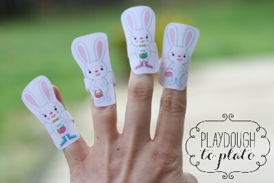 Rhymes for Kids: Five Little Bunnies Finger Puppets