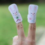 Five Little Bunnies Finger Puppets
