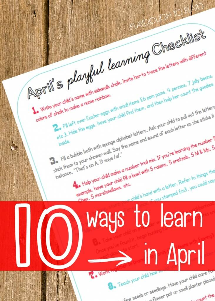 10 Ways to Learn in April