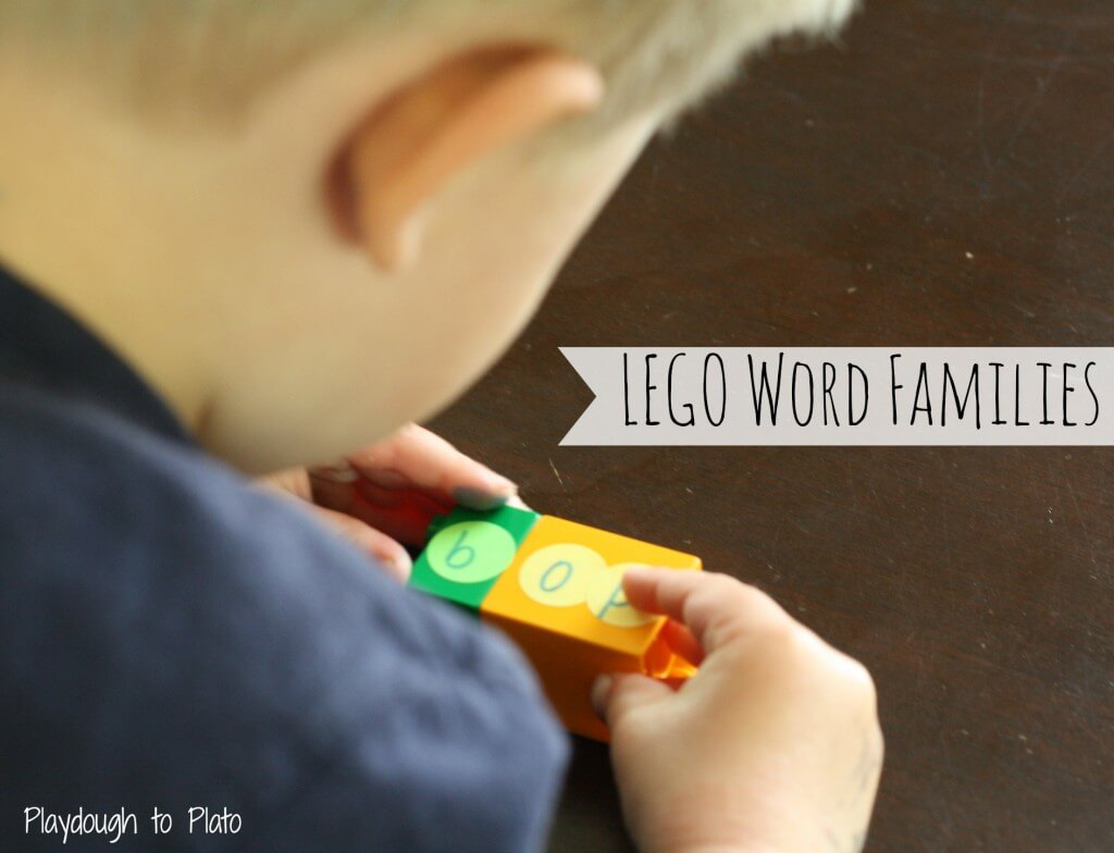 Lego Word Families - Featured