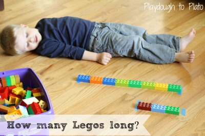 LEGO Game: How Many Legos Long?