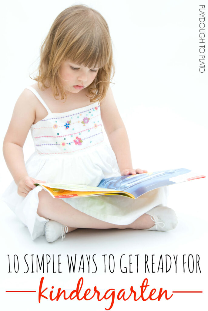 FREE printable!! 10 Simple Ways to Get Ready for Kindergarten.