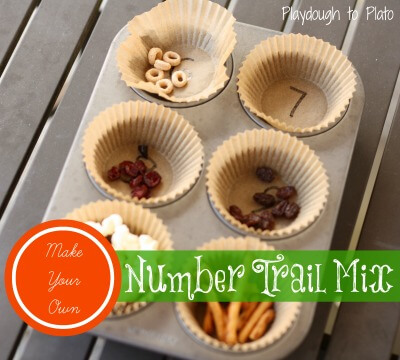 Number Trail Mix