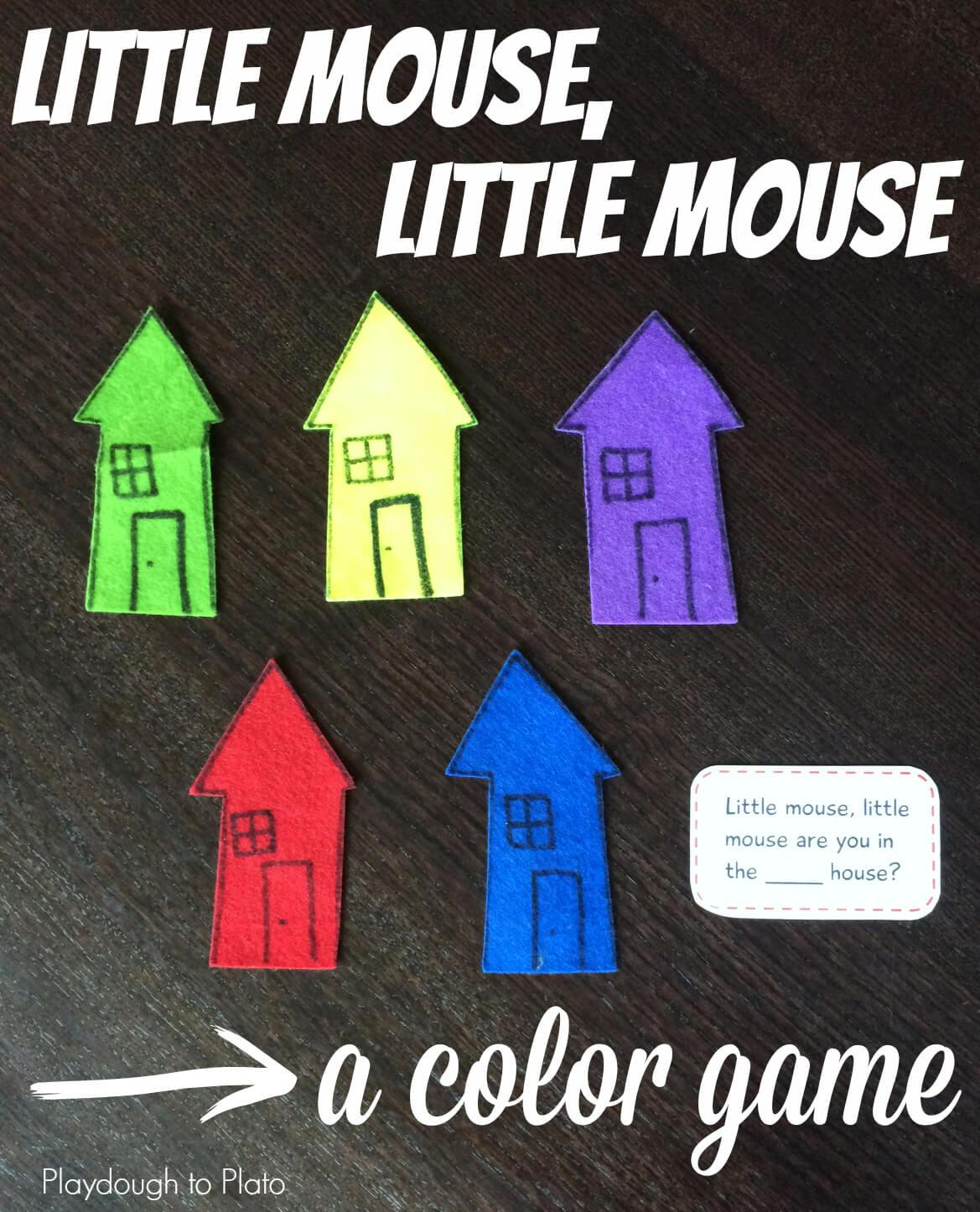 Little Mouse, Little Mouse - Playdough To Plato
