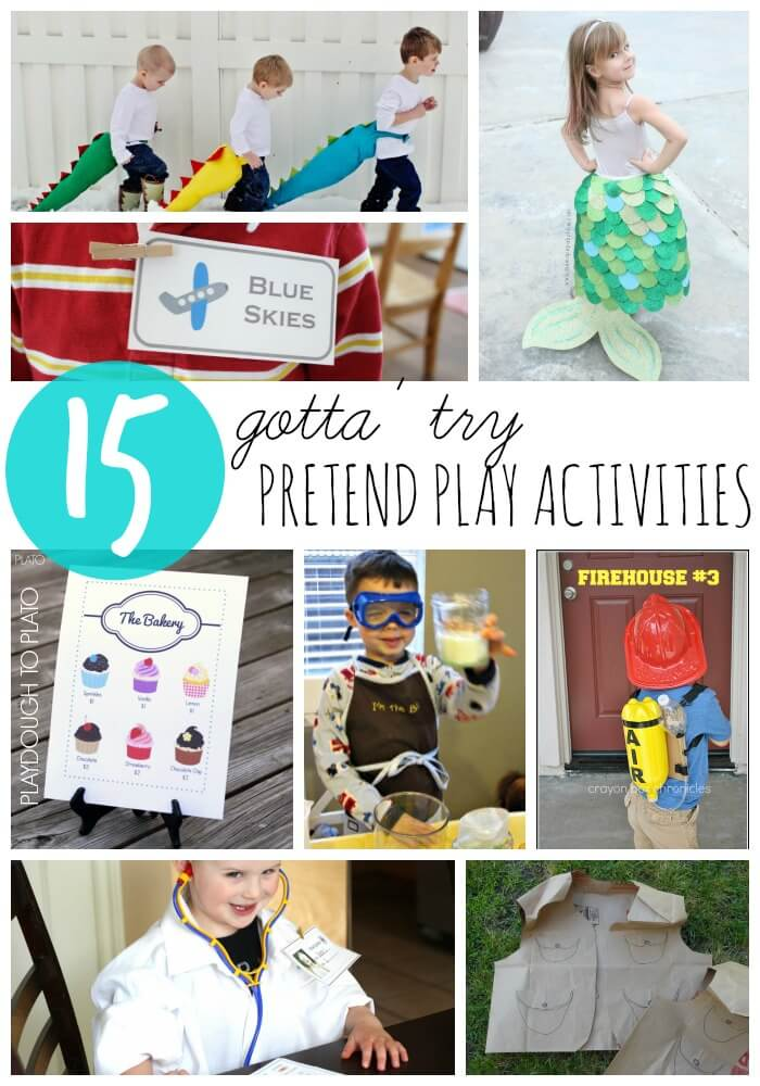 15 Pretend Play Activities