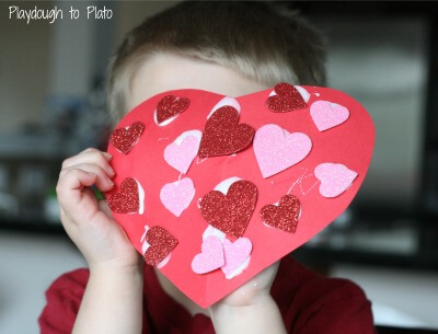 Valentine's Day Fine Motor Activity. {Playdough to Plato}