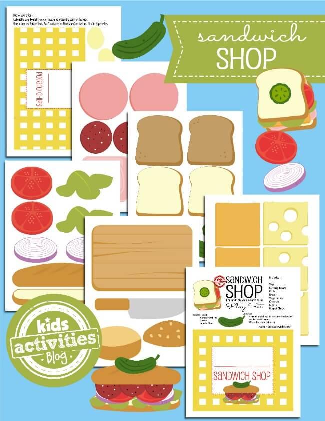 Printable-Toy-Paper-Sandwich-Shop