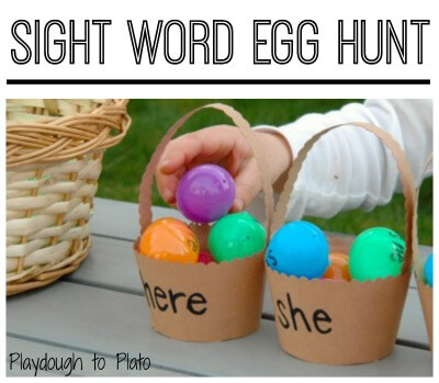 Sight Word Egg Hunt