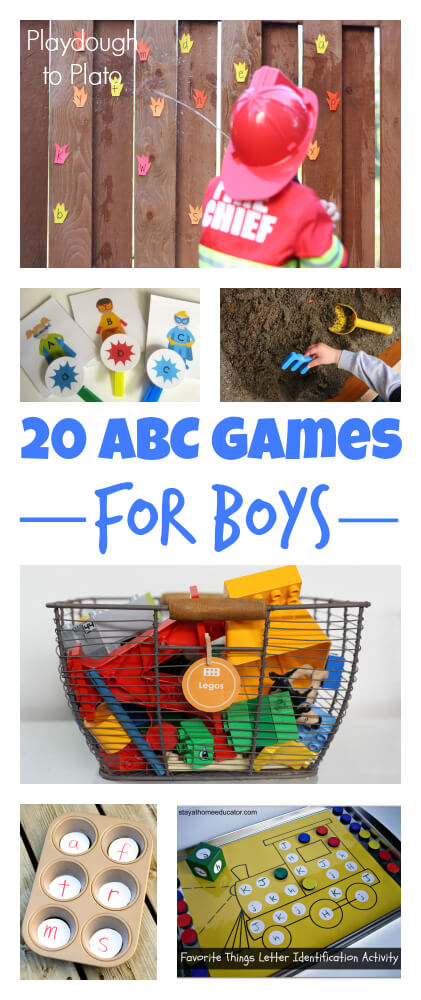 20 ABC Games for Boys