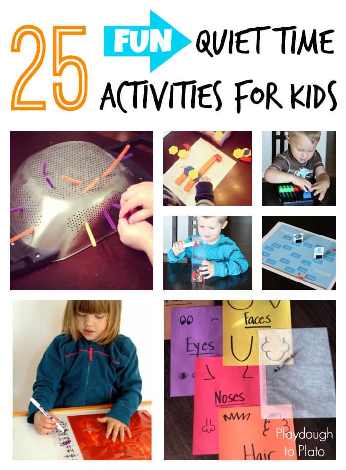 25 Fun Quiet Time Activities