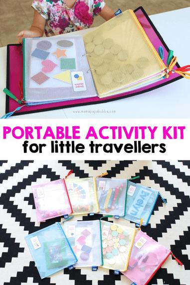 Portable Activity Kit. {Mama. Papa. Bubba.}