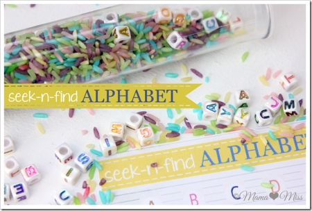 ABC Game: Seek-n- find Alphabet {Mama Miss}