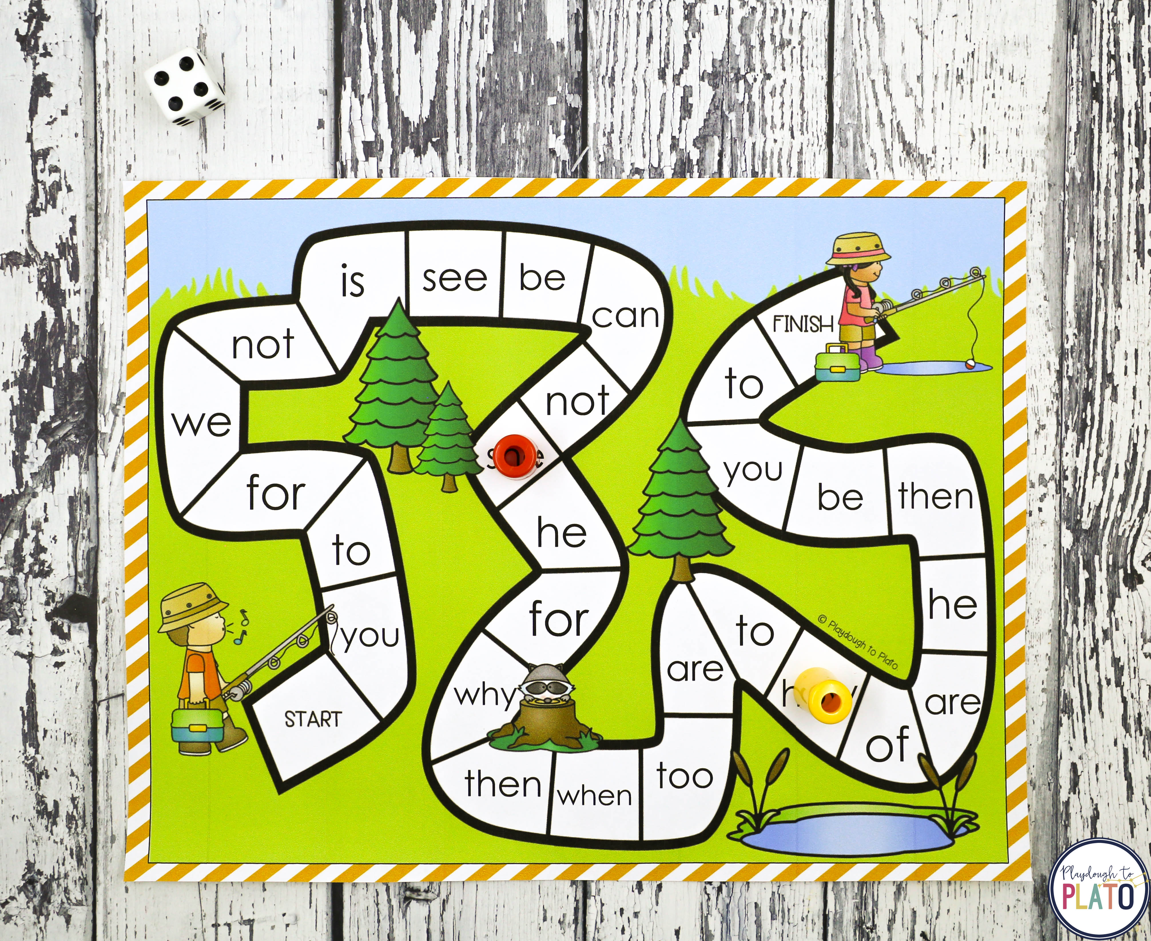 32 Editable Sight Word Games Playdough To Plato