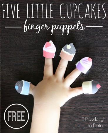 Five Little Cupcakes