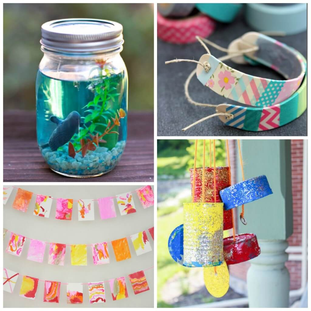 Fun arts and crafts for kids. Lots of great ideas!