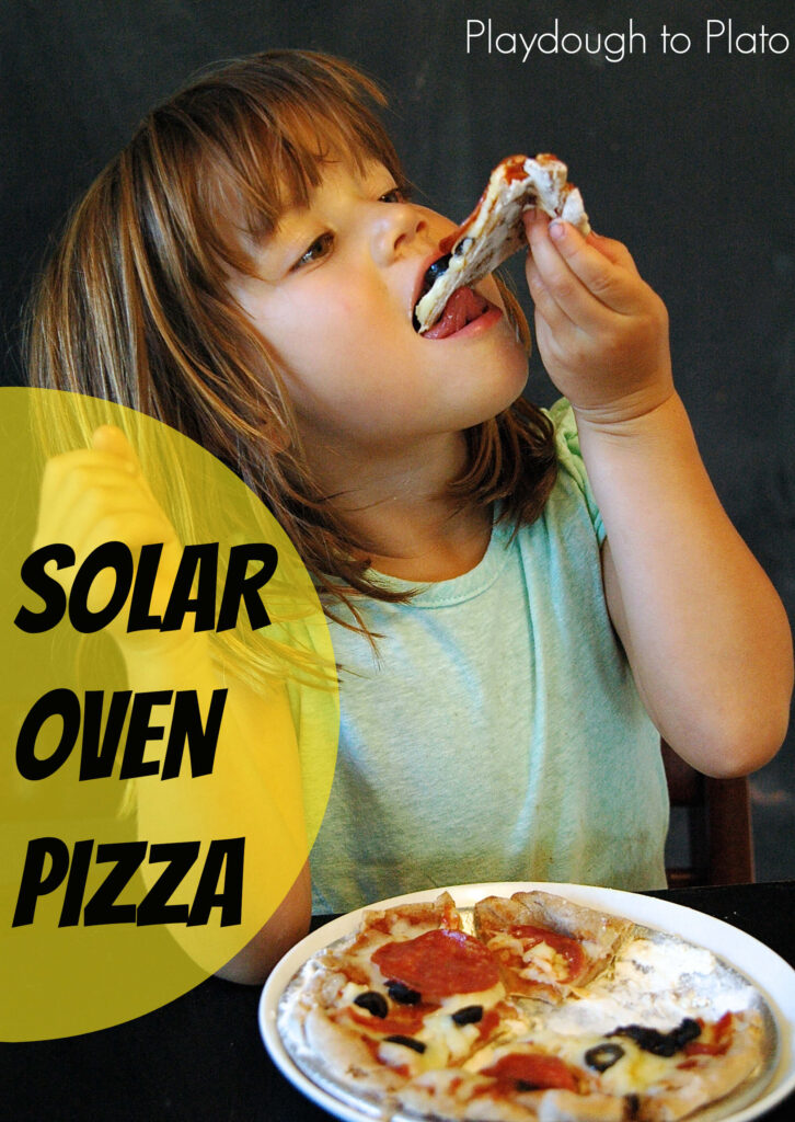 Kids' Science: Make a Solar Oven Pizza