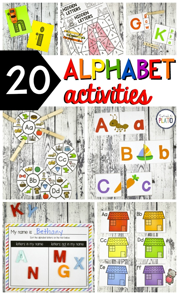 peek inside the alphabet mega pack includes 20