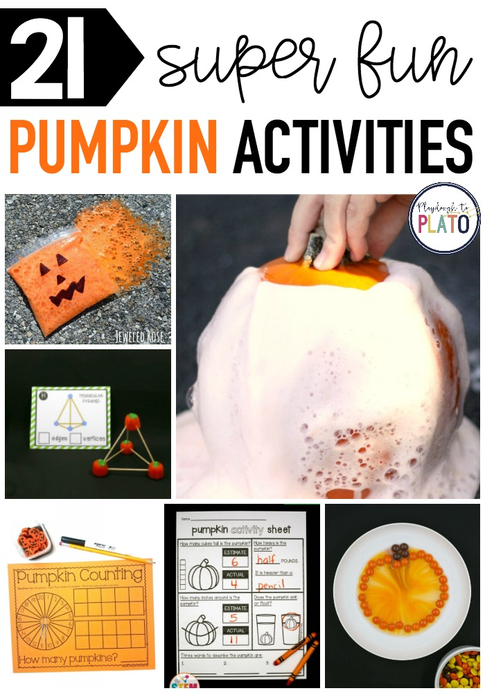 21 Super Fun Pumpkin Activities for Kids