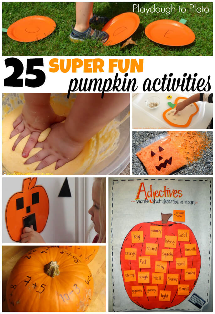 Pumpkin Craft Ideas For Kids Part - 49: 25 Super Fun Pumpkin Activities For Kids