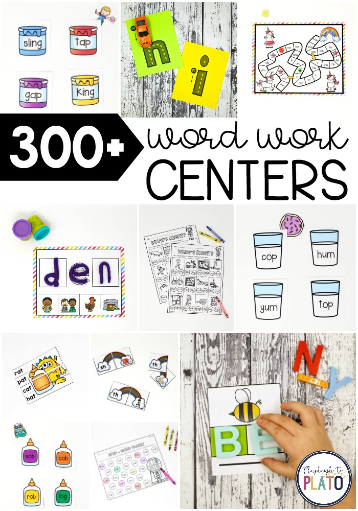 300+ Word Work Activities… And Growing!