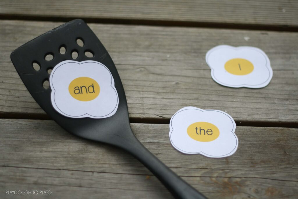 Awesome sight word games for kids.