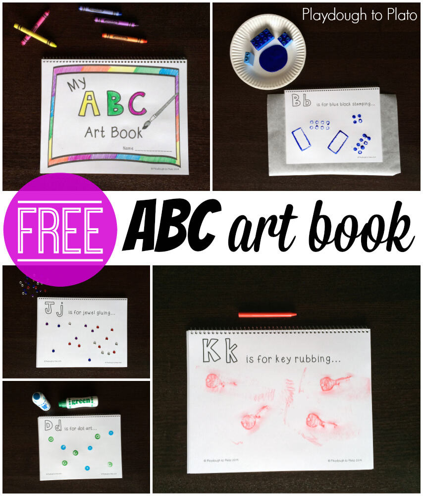 FREE ABC ART BOOK