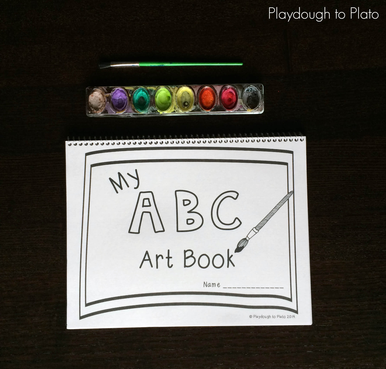 Free Printable Abc Book Playdough To Plato - Free-printable-preschool-books