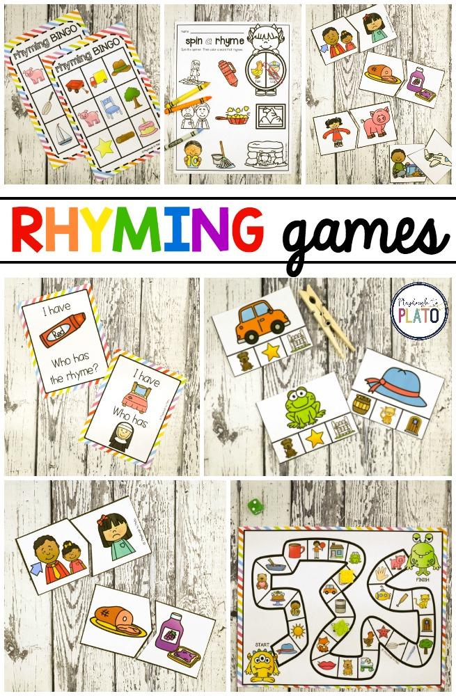Playful Rhyming Games