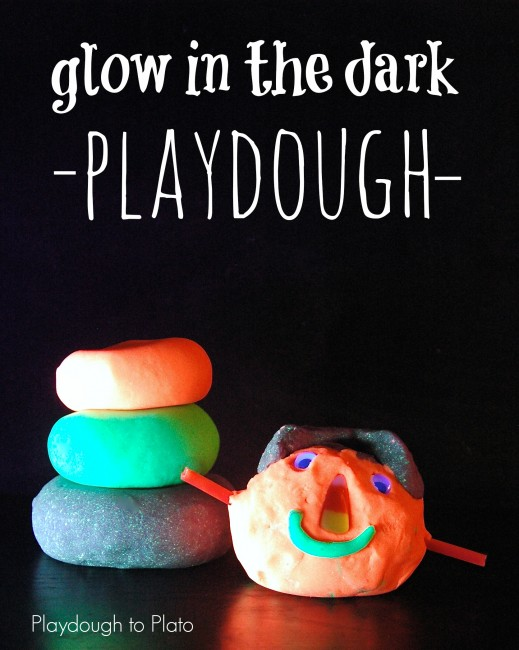 Glow in the Dark Playdough Recipe