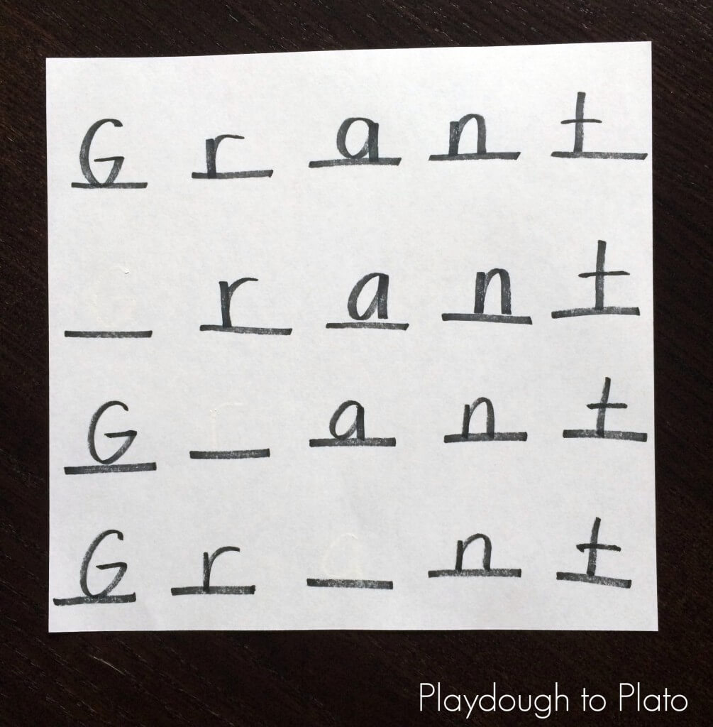 Name Game for Kids