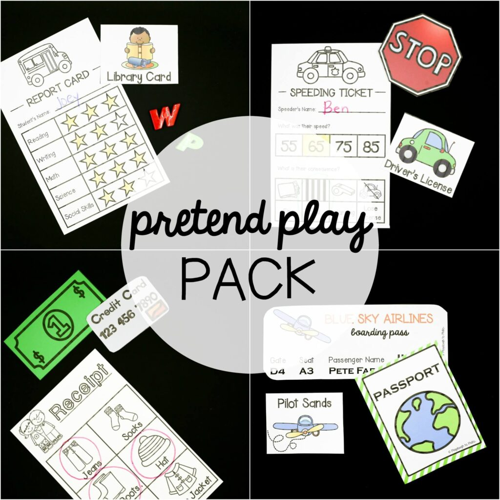 Pretend Play Activity Pack