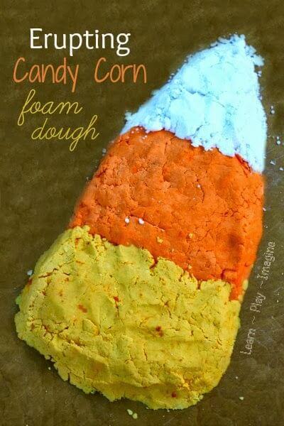 Candy Corn Dough Recipe (1)