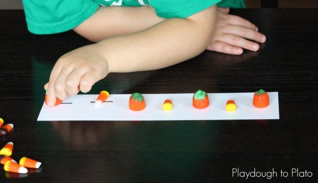 Fall Candy Patterns for Kids