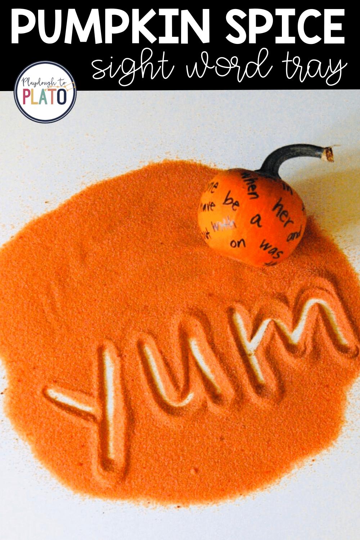 Pumpkin Spice Salt Tray