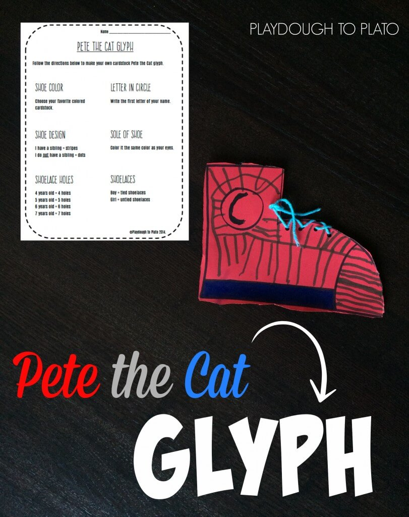 Pete the Cat Glyph