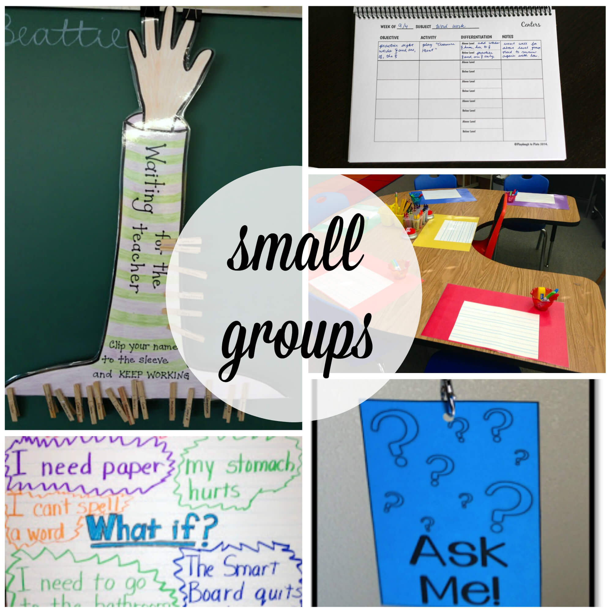 Classroom Group Names Ideas ~ Must try classroom management tips playdough to plato