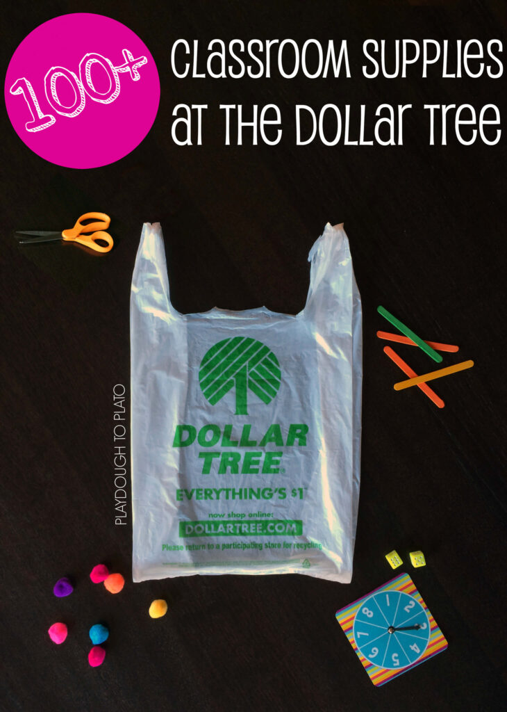 100 Classroom Supplies You Can Get at the Dollar Tree