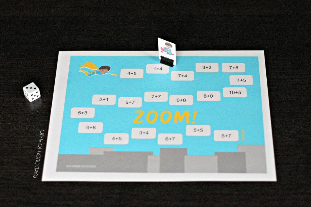 15 EDITABLE Math Fact Games. This looks so fun!